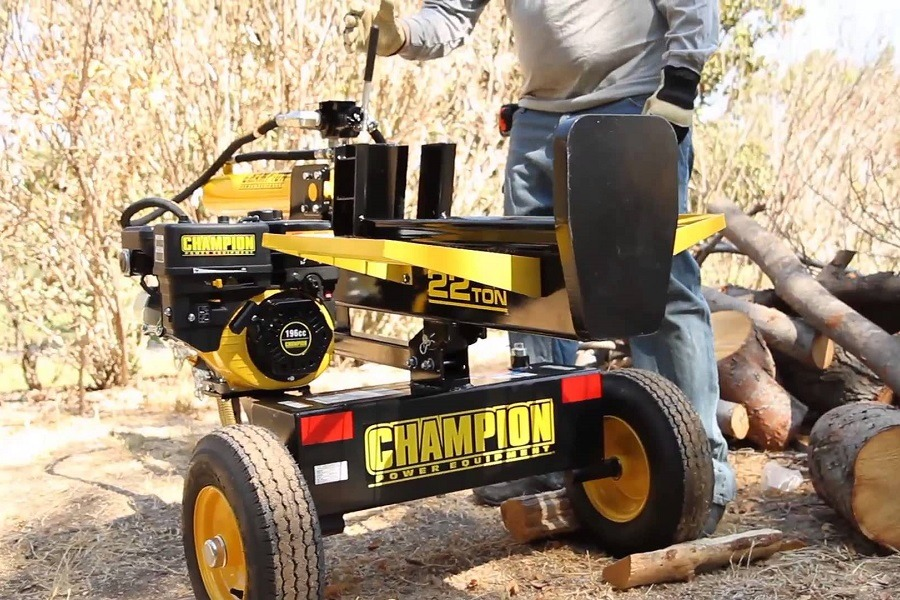 Champion Power Equipment Log Splitter