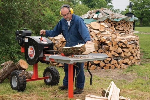 Safety Measures When Using A Log Splitter In The Yard