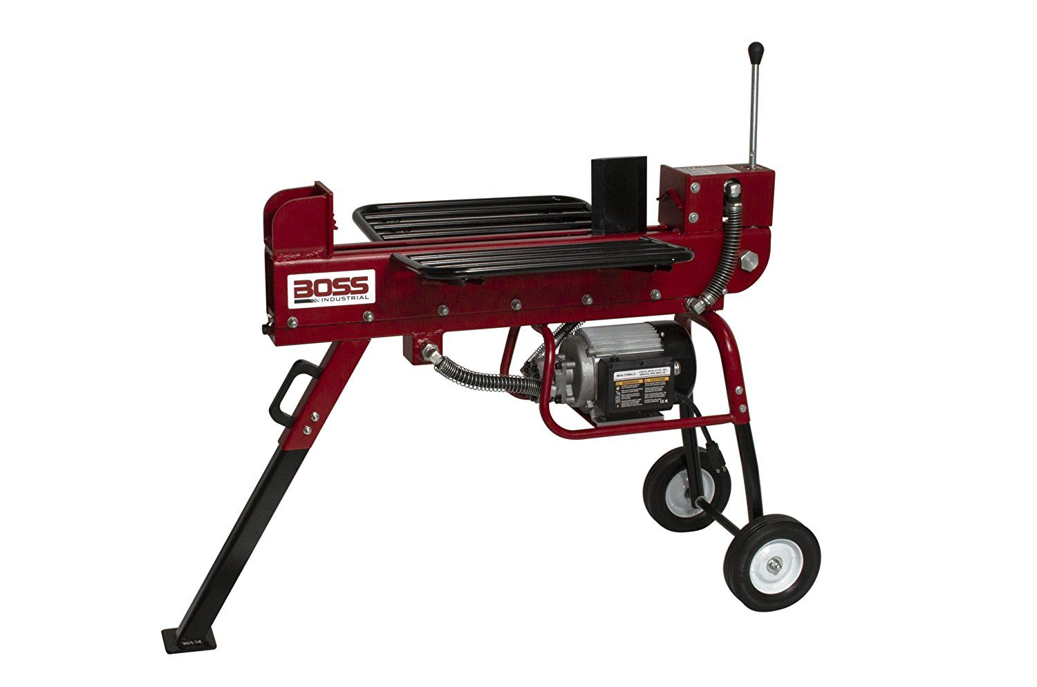 10 Ton Boss Industrial Dual Action Electric Log Splitter