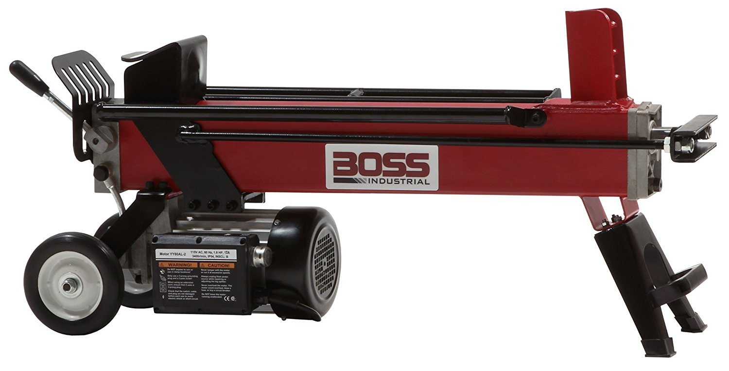 Boss Industrial 5 Ton Electric Log Splitter