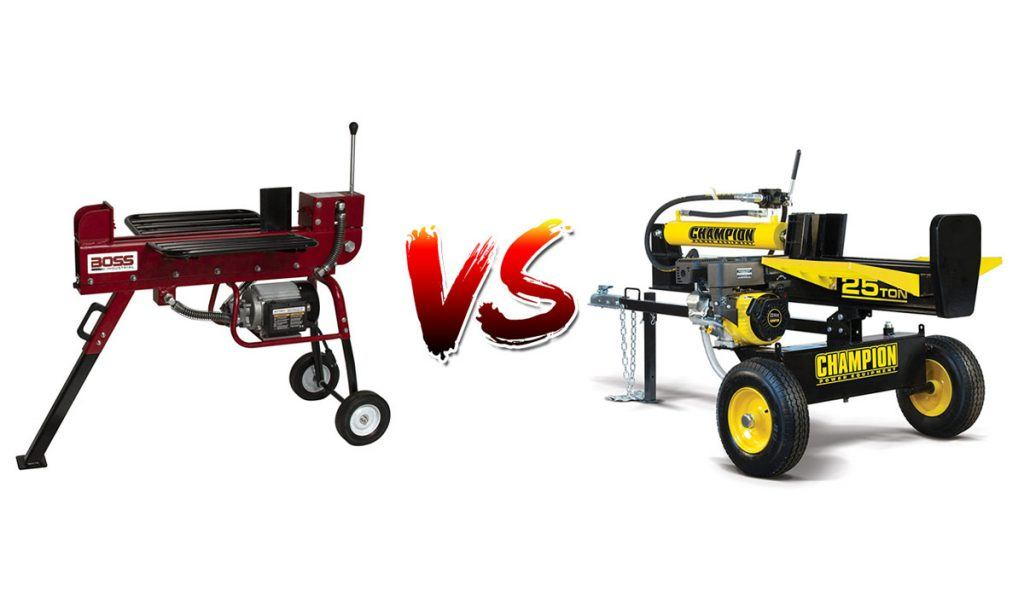 Electric vs. Gas Log Splitters