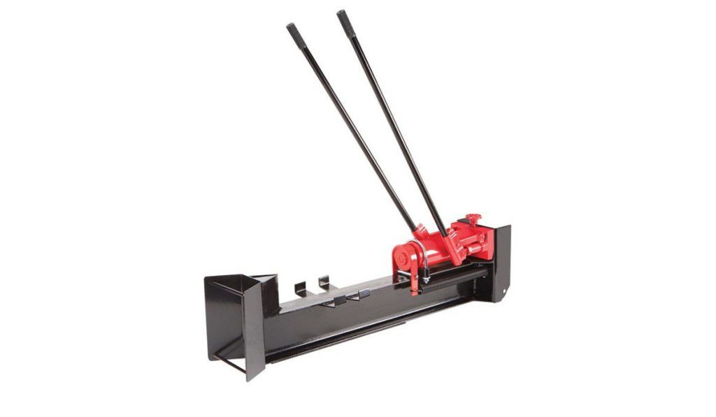 Harbor Freight's 10 Ton Hydraulic Log Splitter