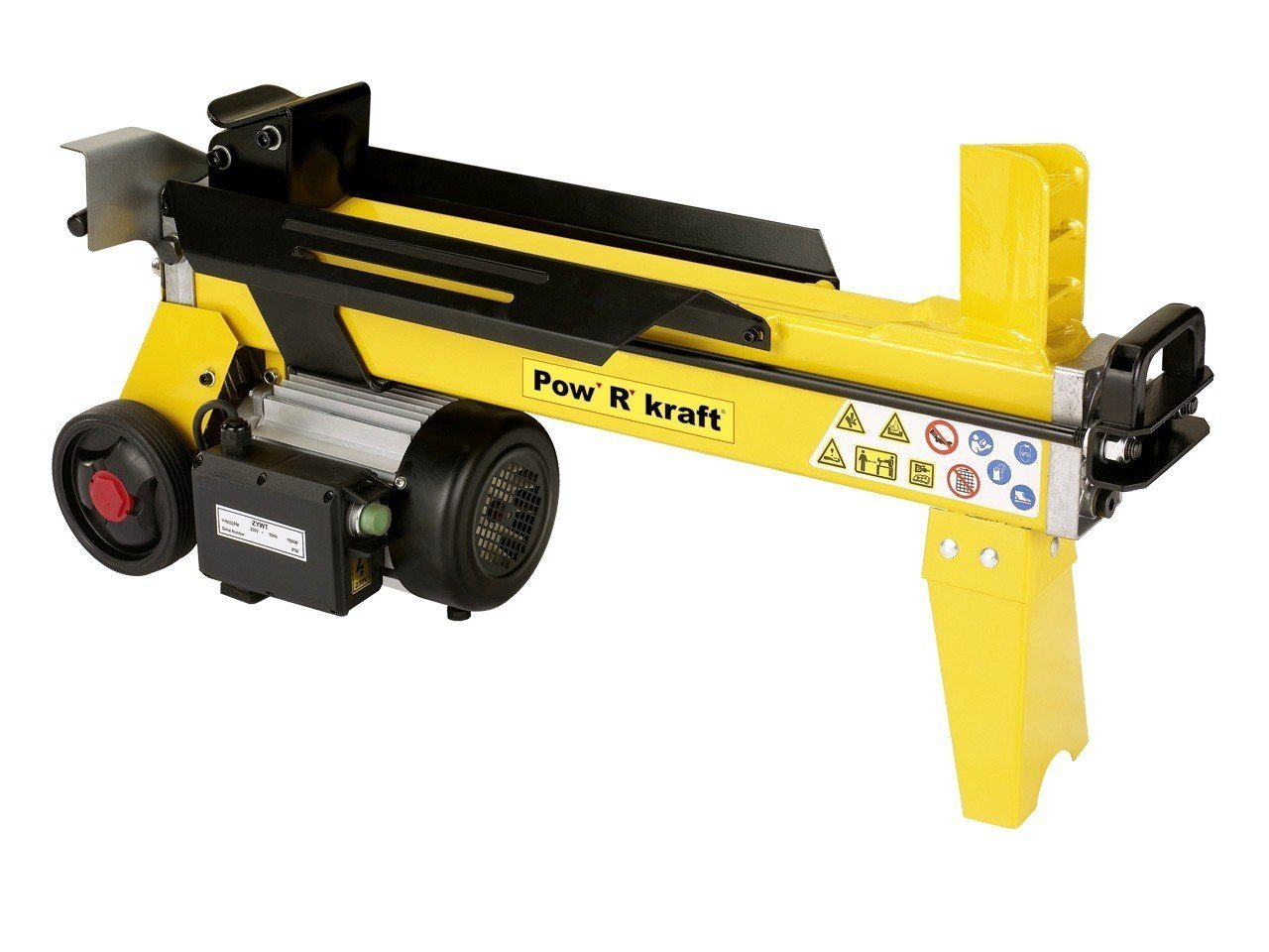 Pow' R' Kraft 4 Ton Electric Log Splitter