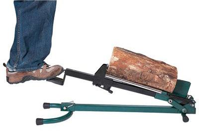 Quality Craft Foot-Operated Log Splitter d